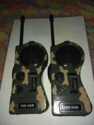 Título do anúncio: Rádio amador pra criança estilo militar