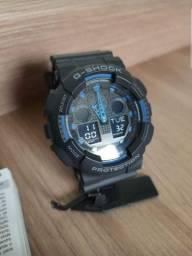 Relógio Masculino CASIO G-SHOCK GA100-1A2DR