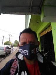 Máscara Sublimada estampada