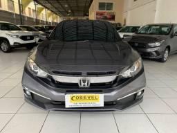 Civic EX 2020, automático, 12.000km, único dono, garantia de fábrica, revisado na Honda