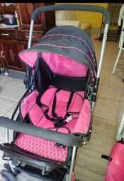 Título do anúncio: Carrinho de bebê e bebê conforto