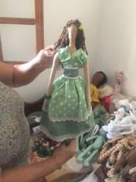 Bonecas feitas à mão