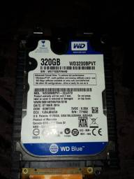 HD para notebook 320gb Wd Blue