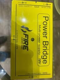 Fonte Power Bridge Amarela 18V - Fire Custom Shop
