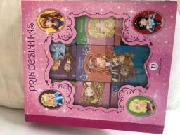 Título do anúncio: 9 mini livrinhos das princesas com gravuras capa dura