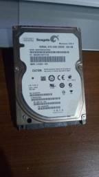 HD Seagate - 500 GB - Notebook - Testado 100%
