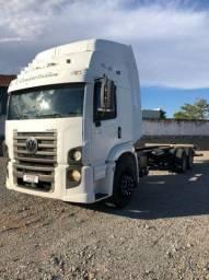 Vw 24.280 24-280 24280 constellation cabine leito teto alto truck Trucado 6X2