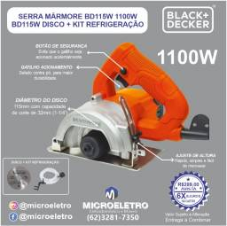 Título do anúncio: Serra Marmore BD115W 1100W