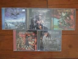 Lote 05 Cds Iron Maiden - Excelente Estado!
