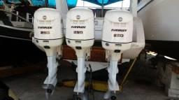 Trinca de motores Evinrude 250 HP