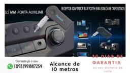 Receptor Bluetooth Áudio Automóvel e Dispositivos de Áudio