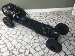 Skate Motorizado Revisado RELAÇÃO E PNEUS NOVOS