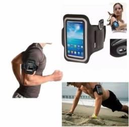 Braçadeira Porta-Celular para praticar esportes