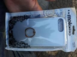 Iphone 7 plus capa com anel de dedo