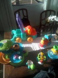 Brinquedos Fisher price e chicco