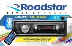 Rádio Com Bluetooth Display Com 7 Cores. (Novo) + Instalação Grátis