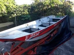 Canoa 6 metros motor YAMAHA 25 BMHS tudo semi novo - 2014