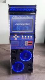 Máquina de musica Jukebox e Videobox