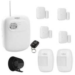 Kit de Alarme Residencial/Comercial Intelbras com Discadora+ 04 Sensores!