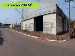 Alugo terreno e barracão comercial perto ufmt, lote com 1.050 m²