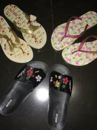 Vendo sandálias: havaina e melissa