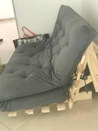 Sofá-cama estilo fouton