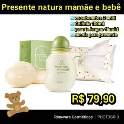 Presente natura mamãe e bebê