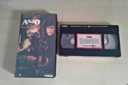Filme em fita vhs 'Anjo da vingança 3'. trans vídeo
