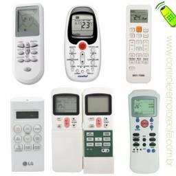 Controles novos de ar condicionado e tv com entrega e garantia