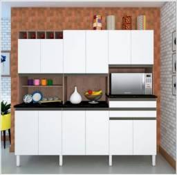 Quarta Super Ofertão - Cozinha 12 Pts Branca - MDF - Melver