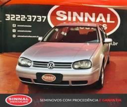 Golf 2001/2002 1.6 MI 8V Gasolina 4P Manual