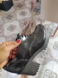 Sapato Oxford tratorado