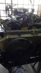 Motor diesel turbo vendo MWM