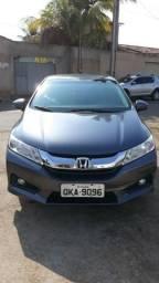 Honda city ex 15/15 automático único dono - 2015