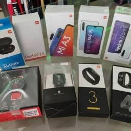 Celulares, Fones, Ps, Relógio, Pulseira, Caixa de som JBL, Chromecast