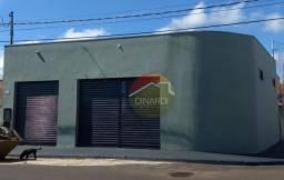 Salão à venda, 88 m² por r$ 135.000 - jardim dos tucanos - brodowski/sp