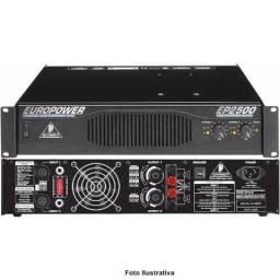 Potencia Amplificador Europower EP2500 Behringer Profissional