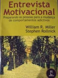 """Livro """"Entrevista Motivacional - comportamentos adictivos"""""""