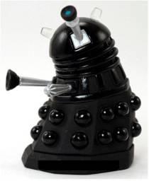 Rara Miniatura Dalek Sec Doctor Who Preto 5,5cm