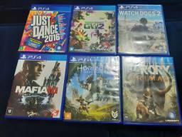 PS4 Jogos R$ 70,00