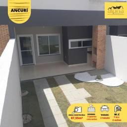 Casas com fino acabamento no melhor bairro Ancurí / 2 suíte