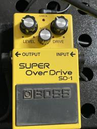 Pedal Over drive Boss sd-1