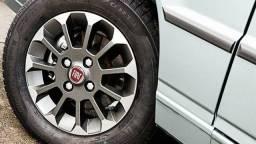 C o m p r o rodas liga leve Fiat  do uno mille top grazie aro 13