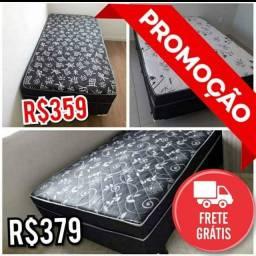 Cama Box casal 1,38 x 1,88x40  Dispensa Colchão Frete Grátis!!!