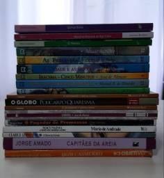 Livros literários clássicos diversos
