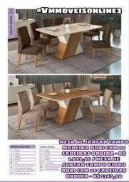 Mesa  mesa de jantar   6  lugares