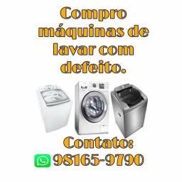 Comp/ sua máquina de lavar