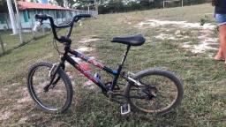 Bicicleta Caloi aro 20 preta