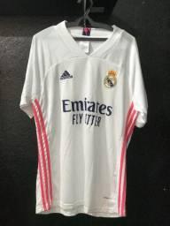 Camiseta de Time Padrão Shopping do Real Madri