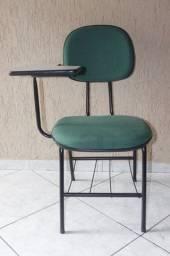 Cadeira Escolar em Tecido Verde 87 cm x 50 cm x 44.5 cm